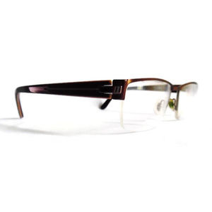 Morel Glasses Frames Ogo Dark Brown Clear 7408O